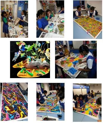 Art Club Activities Photos
